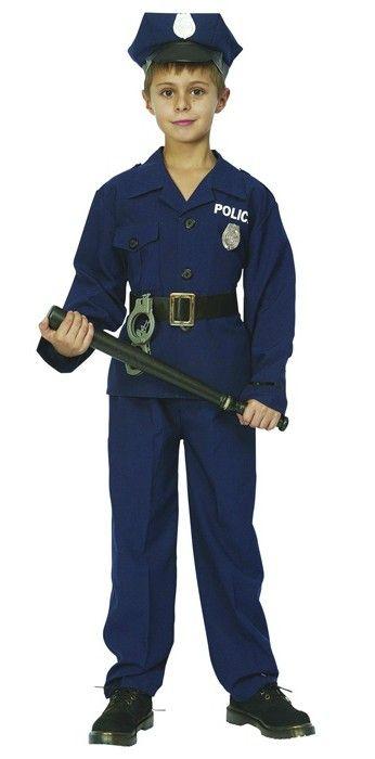 afafc0968c8949 Dziecięcy strój policjanta. Ten mały stróż porządku z pewnością przypilnuje  dobrej zabawy i zadba o