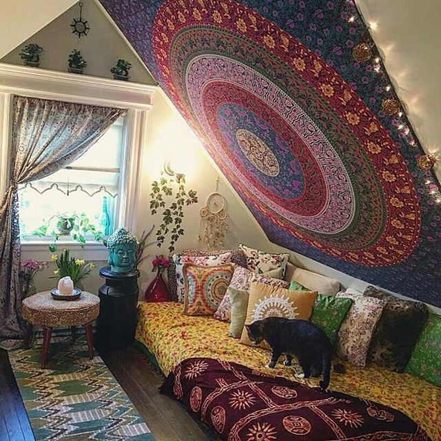 Adding Tapestries To One Or Both Sides Of An Attic Ceiling