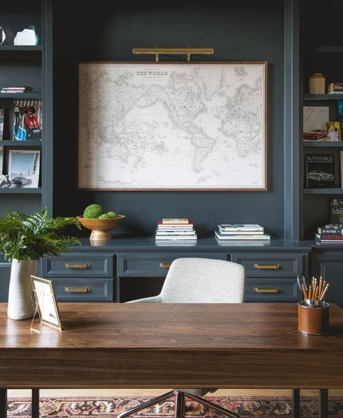 A Gentleman's Office – Photos that are Inspiring Me and the Plan for my Husbands Home Office – A Noble Home