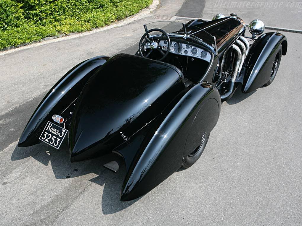 mercedes benz 710 ssk trossi roadster in line 71 liter 6 cylinder engine unique