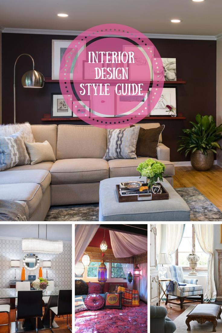 Interior Design Styles Defined Interior Design Style Guide Style Guide Design Interior Design Styles Wedding Decor Style