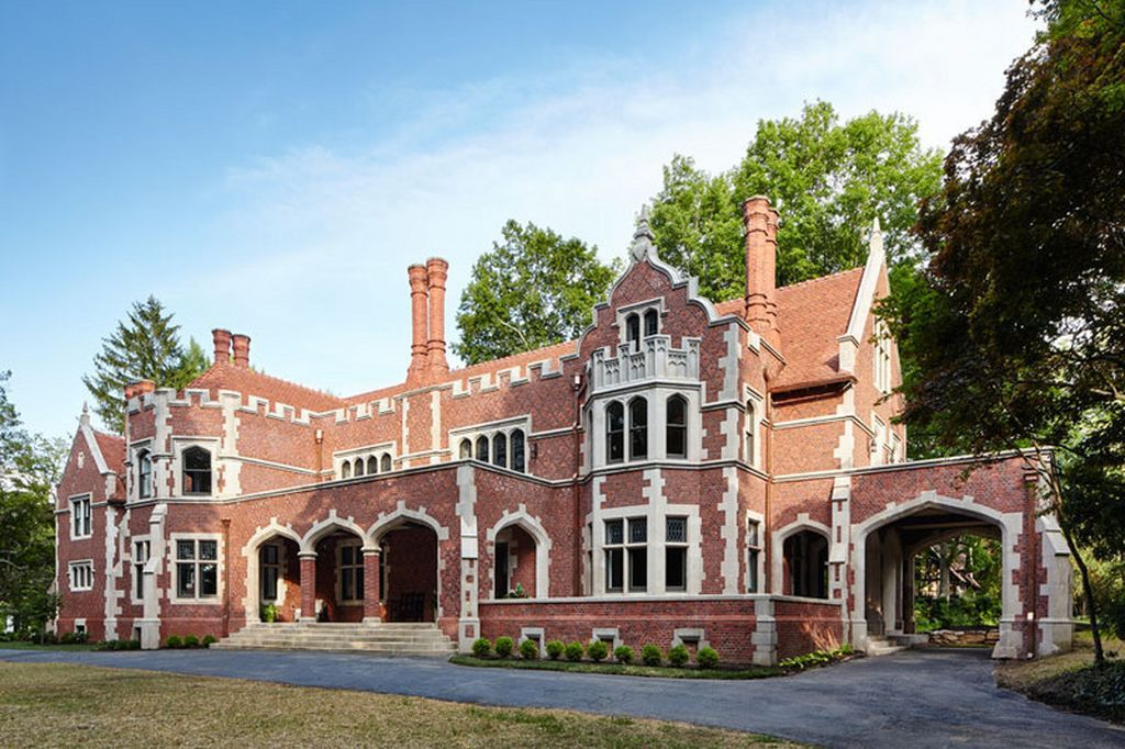 Pa Phila Wayne Pa By William Price Mansions Historic Homes Types Of Houses