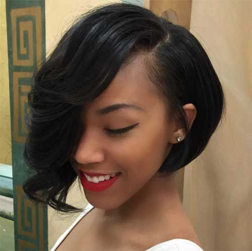 Really Beautiful Black Women Bob Hairstyles Short Bob Hairstyles