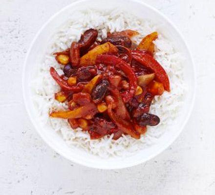 Bean pepper chilli recipe pepper beans and chilli recipes bean pepper chilli forumfinder Image collections