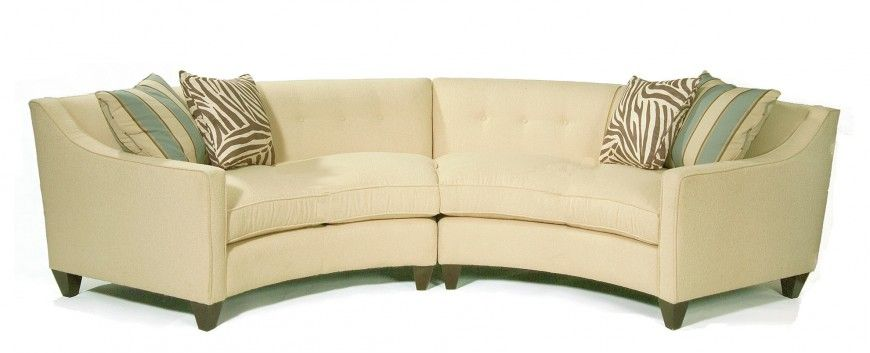 25 Contemporary Curved and Round Sectional Sofas Yellow sofa - contemporary curved sofa