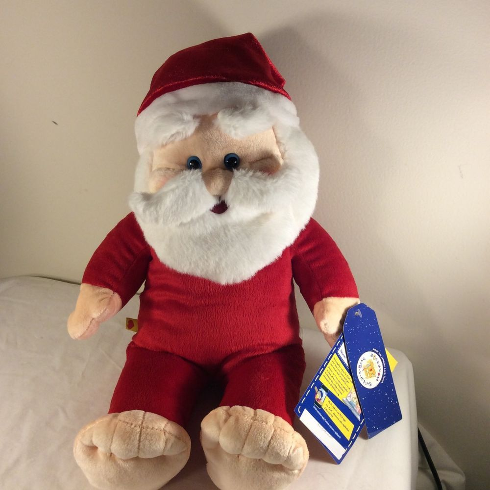 NEW Build-A-Bear Workship Santa Claus Plush Stuffed Animal