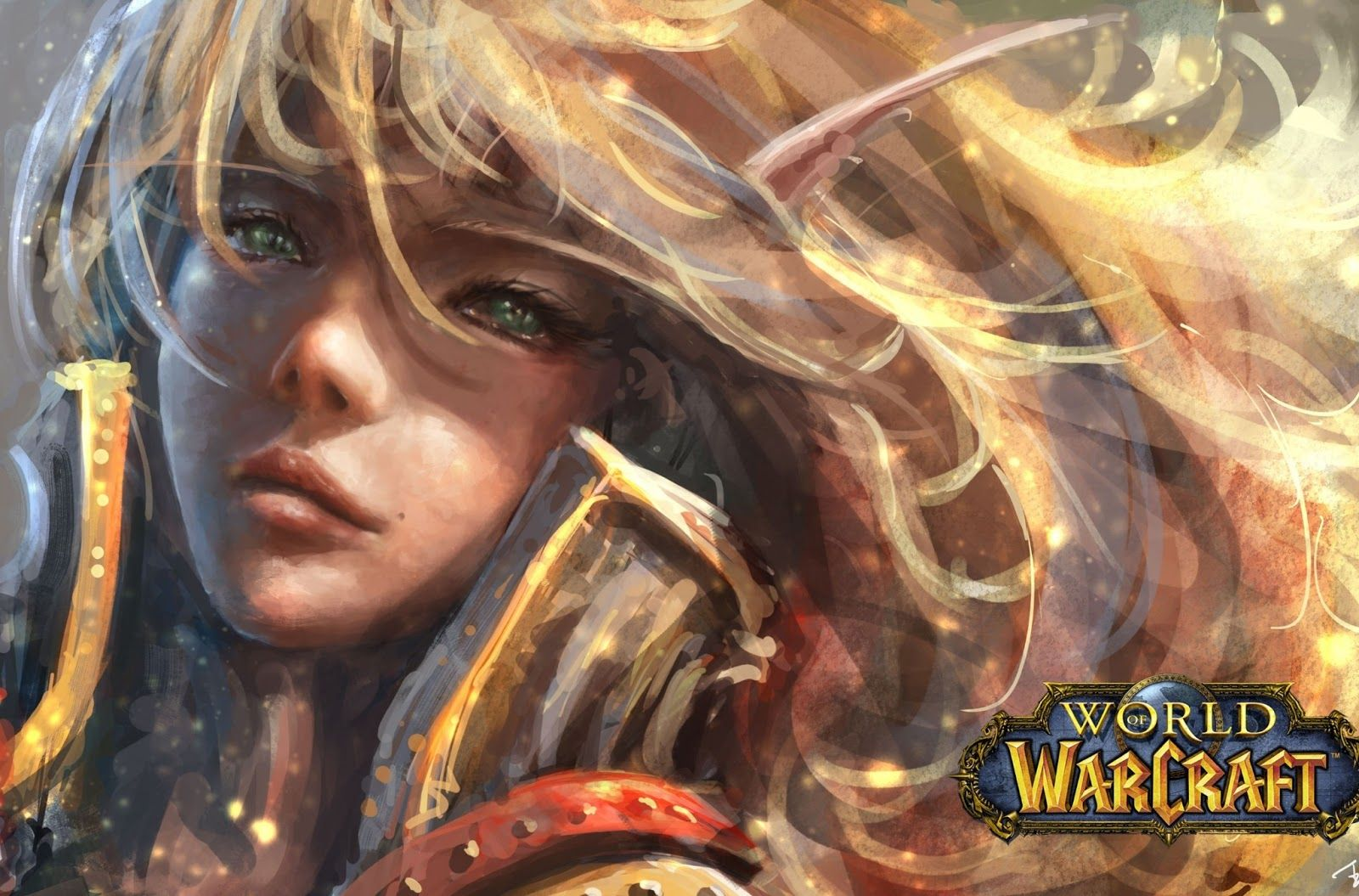 World Of Warcraft Blood Elf Wallpaper World Of Warcraft