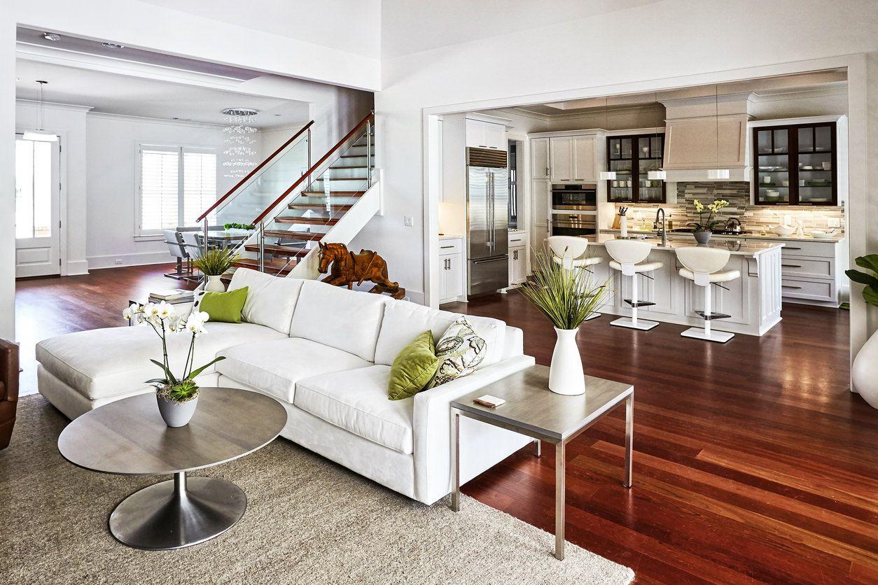 Open Plan Living Room Dining Room Kitchen Ideas