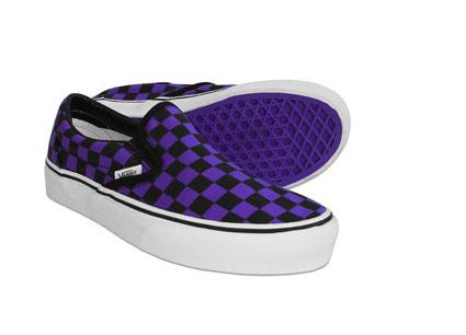 c5c37377518fae groomsmen checkered purple black vans
