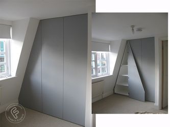 Loft And Attic Room Furniture In London Attic Rooms Attic Bedrooms Fitted Furniture