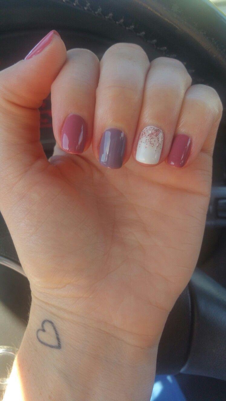 Fall shellac nails | Nails | Pinterest | Shellac nails