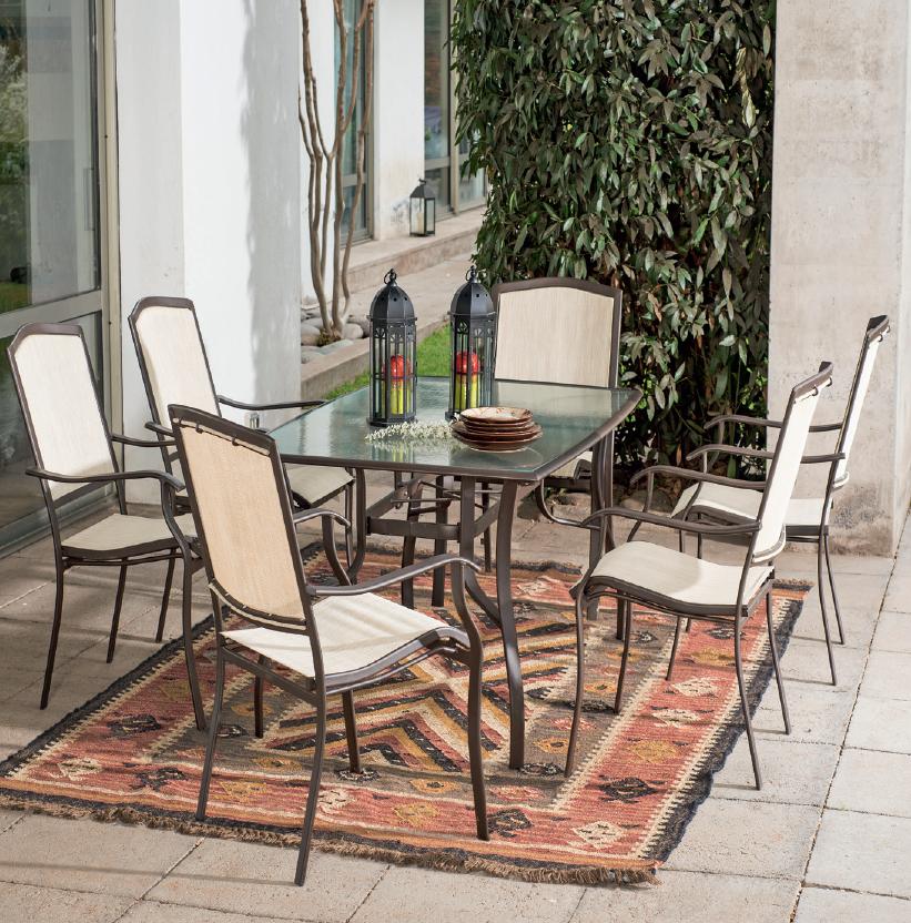 El d a est hermoso aprov chalo en tu terraza for Terrazas easy 2016