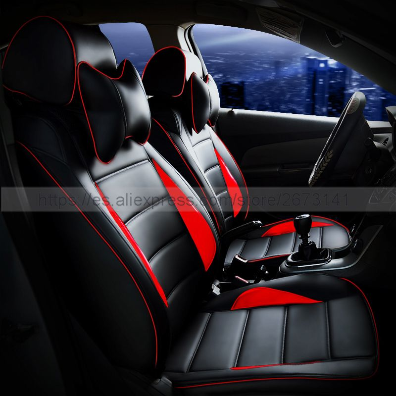 Custom Leather Car Seat Cover Front Back Complete Set Cushion Accessories Interior For Opel