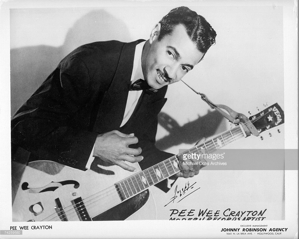 Photo of Pee Wee Crayton Photo by Michael Ochs Archives
