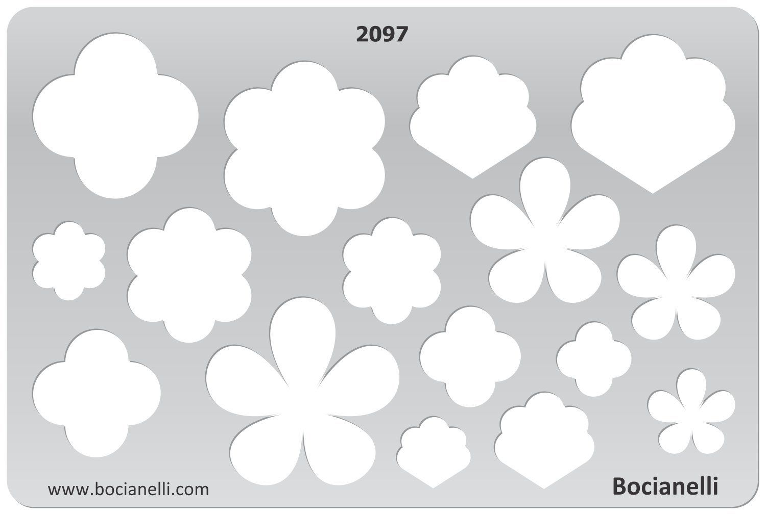 amazoncom plastic stencil template for graphical design drawing drafting metal clay jewellery jewelry making spring flower flowers