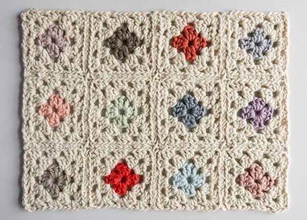 Granny Square Blanket in Gentle Giant   Purl Soho   Crochet ...