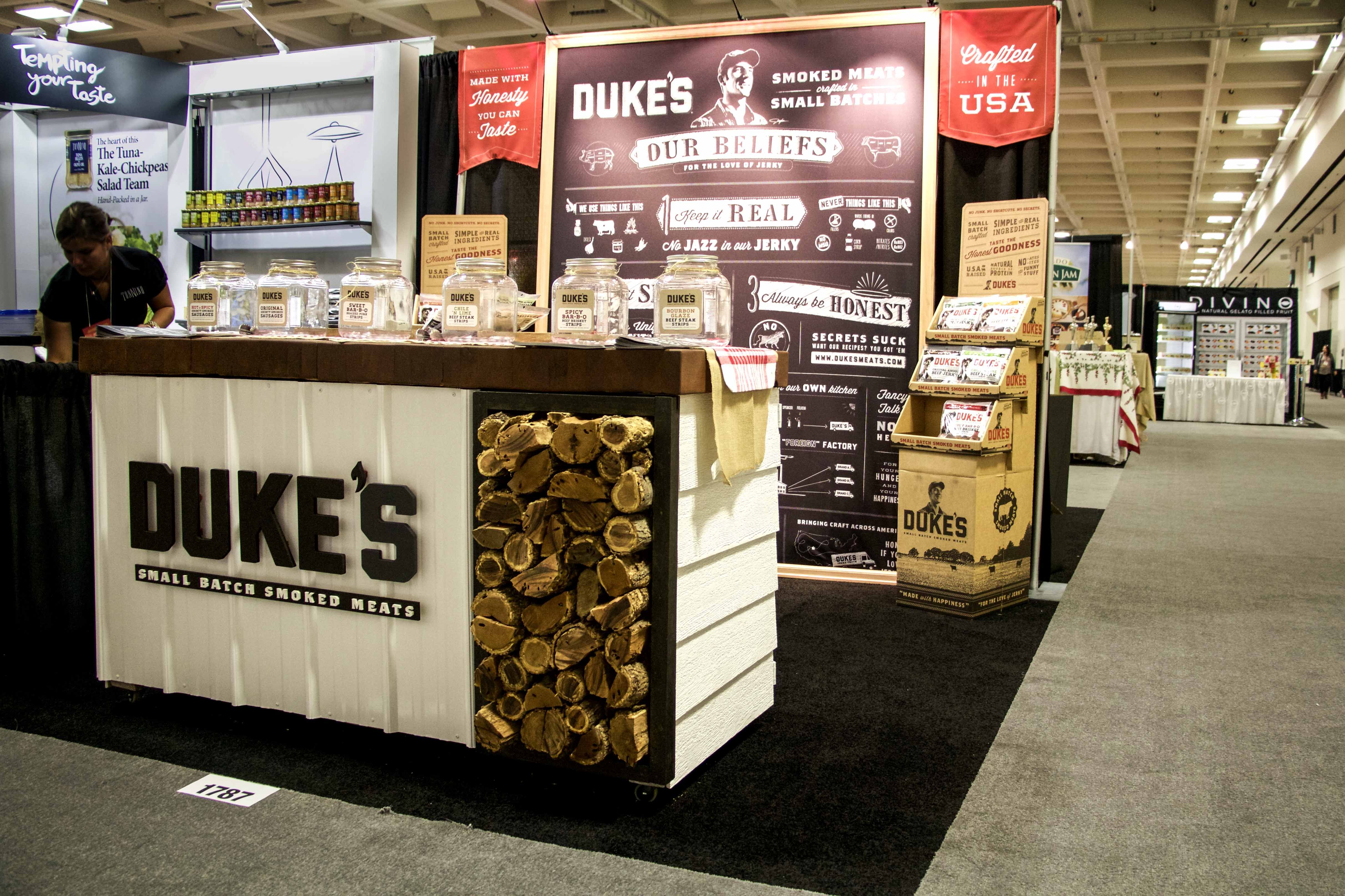 Winter fancy foods trade show booth 2015 san francisco for Trade exhibition