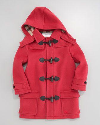 04ffcca191b Burberry Unisex Toggle Coat