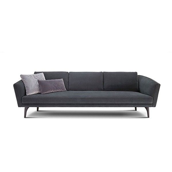 Sofas Modular Sofas Designer Lounges Sofabeds Recliners In Fabric Liked On Polyvore Featuring Home Furnitu Modular Sofa Curved Sofa Leather Sofa Bed