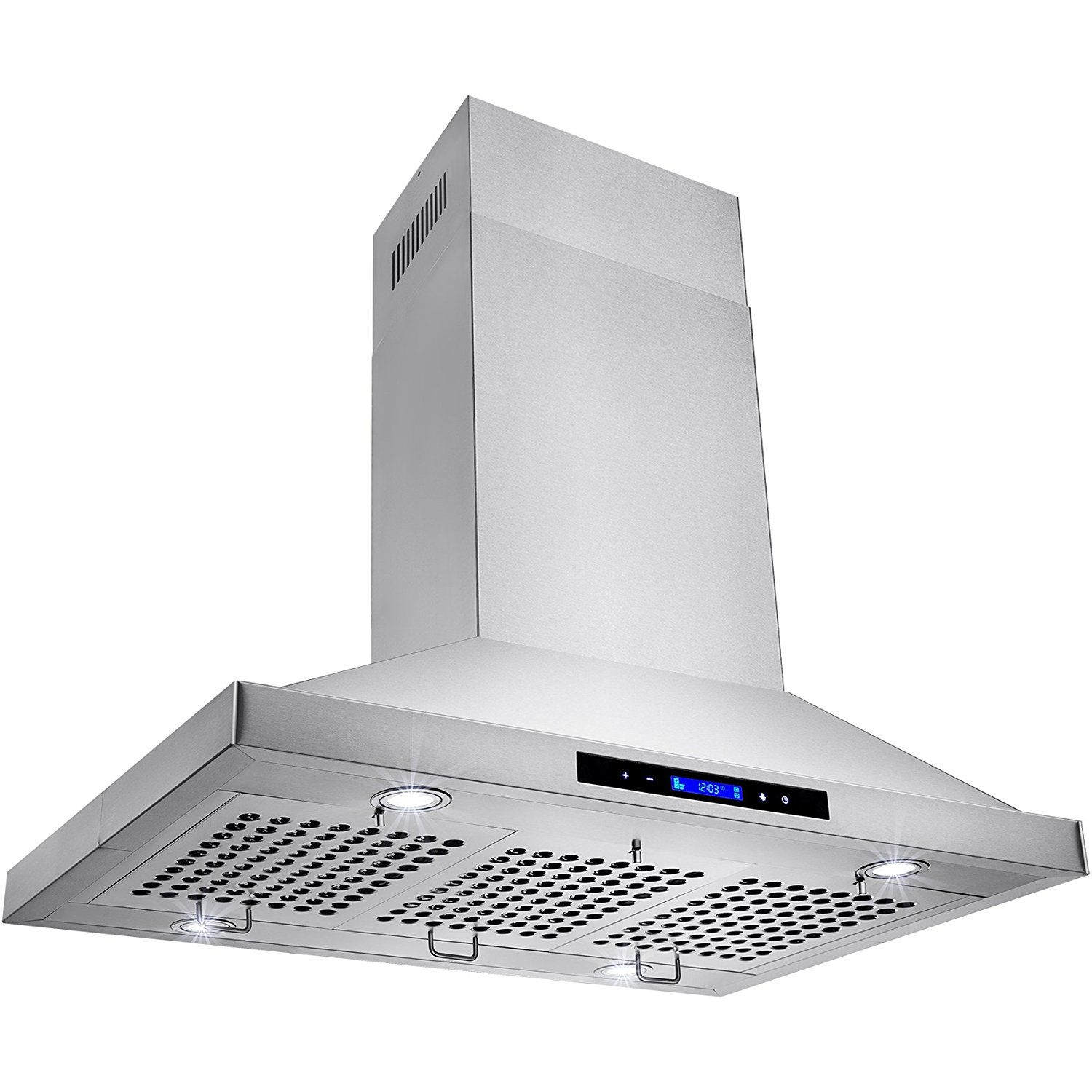 Golden Vantage Stainless Steel 36 Euro Style Island Mount Range Hood Lcd Screen Gv Gl 9002 36 Continue To The Produ Euro Style Range Hood Stainless