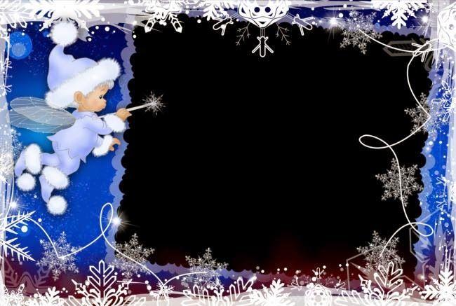 Navidad: Marcos para Fotos para Imprimir Gratis.
