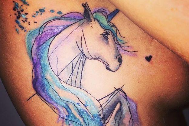 20 Magical Unicorn Tattoos