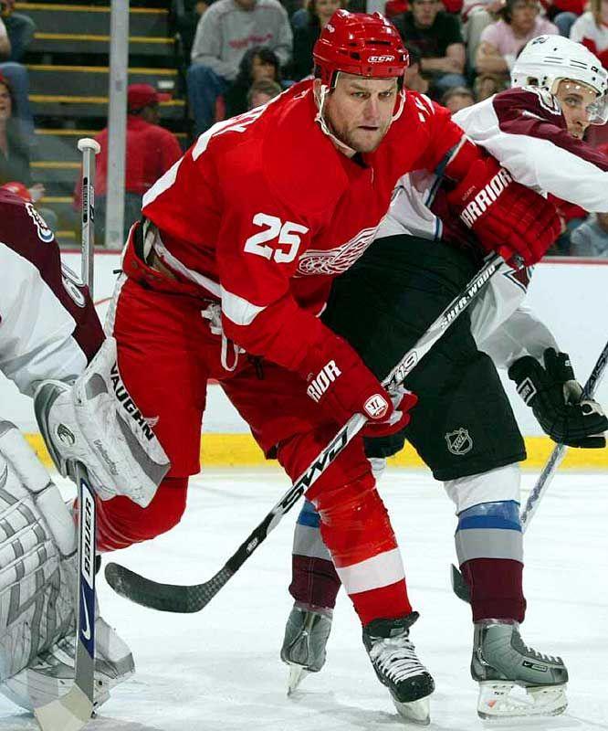 Darren Mccarty Detroit Redwings Red Wings Hockey Detroit Red