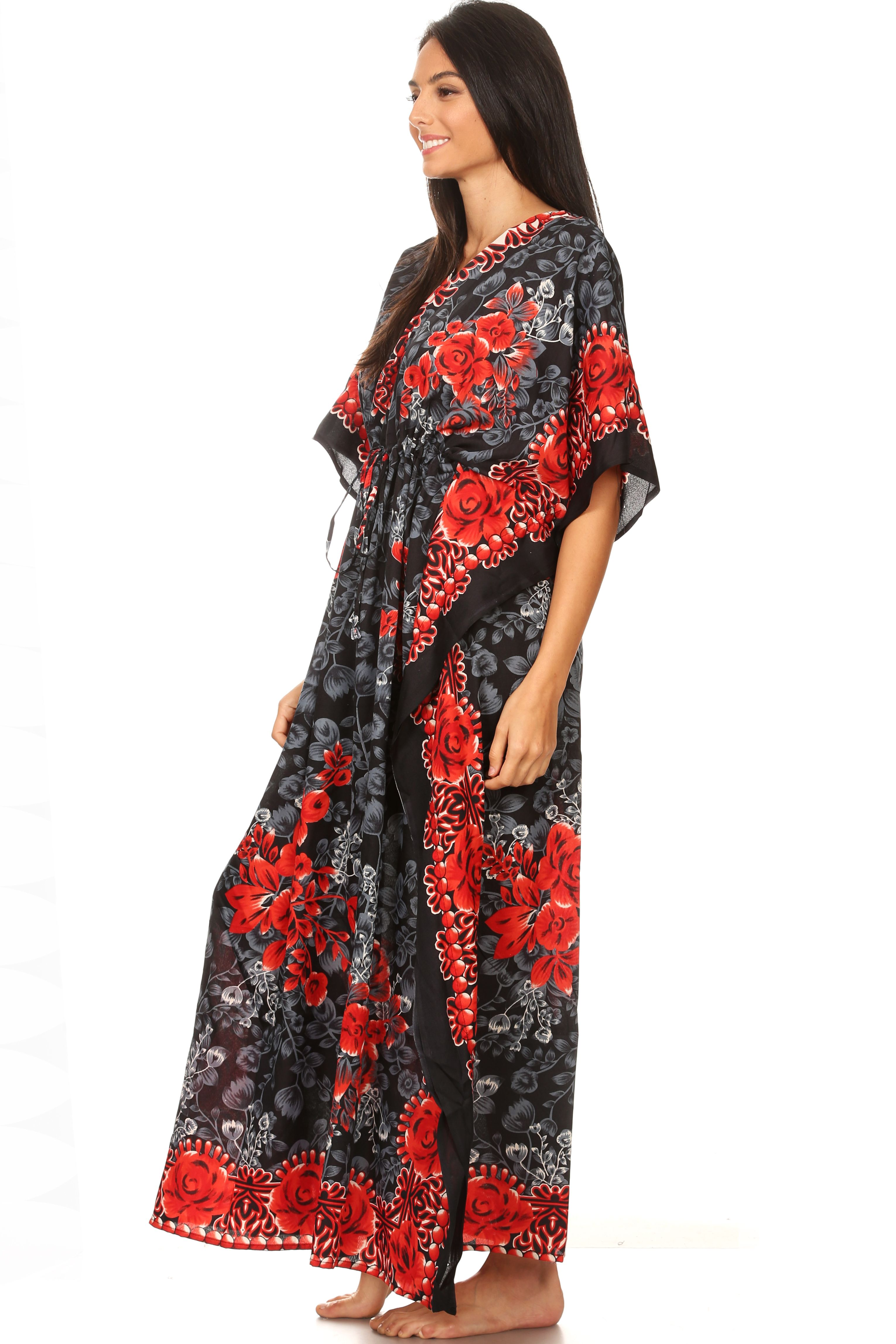 Caftan Dresses For Women V Neck Long Kaftan Cover Up Summer Maxi Dress Ad Neck Spon Long Women In 2020 Summer Maxi Dress Maxi Dress Womens Dresses [ 4590 x 3060 Pixel ]