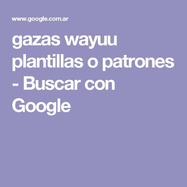 gazas wayuu plantillas o patrones - Buscar con Google