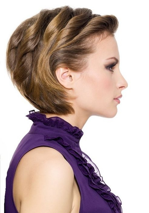 Cool Hairstyles Party Shorthair Hairstyles PARTY SHORTHAIR - Hairstyle for short hair for a party