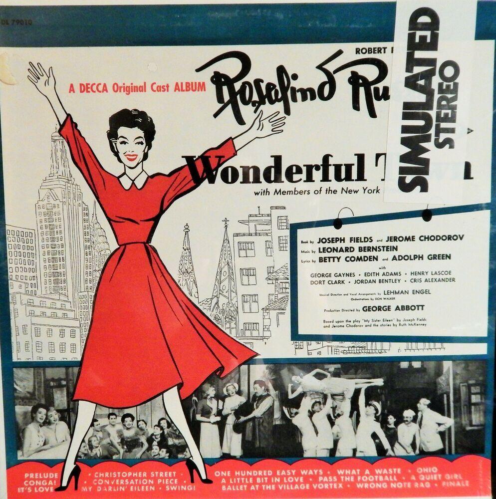 WONDERFUL TOWN (1950S MUSIC LEONARD BERNSTEIN) MINT