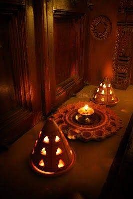 Rang Decor {Interior Ideas Predominantly Indian}: Diwali At Home.