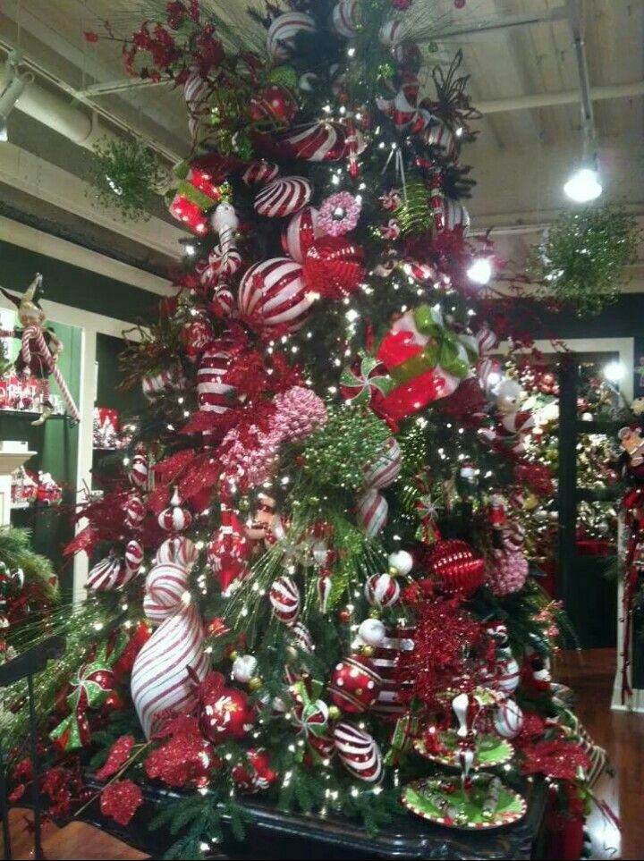 Candy Christmas Tree Christmas Decor Pinterest Christmas decor - christmas decor pinterest