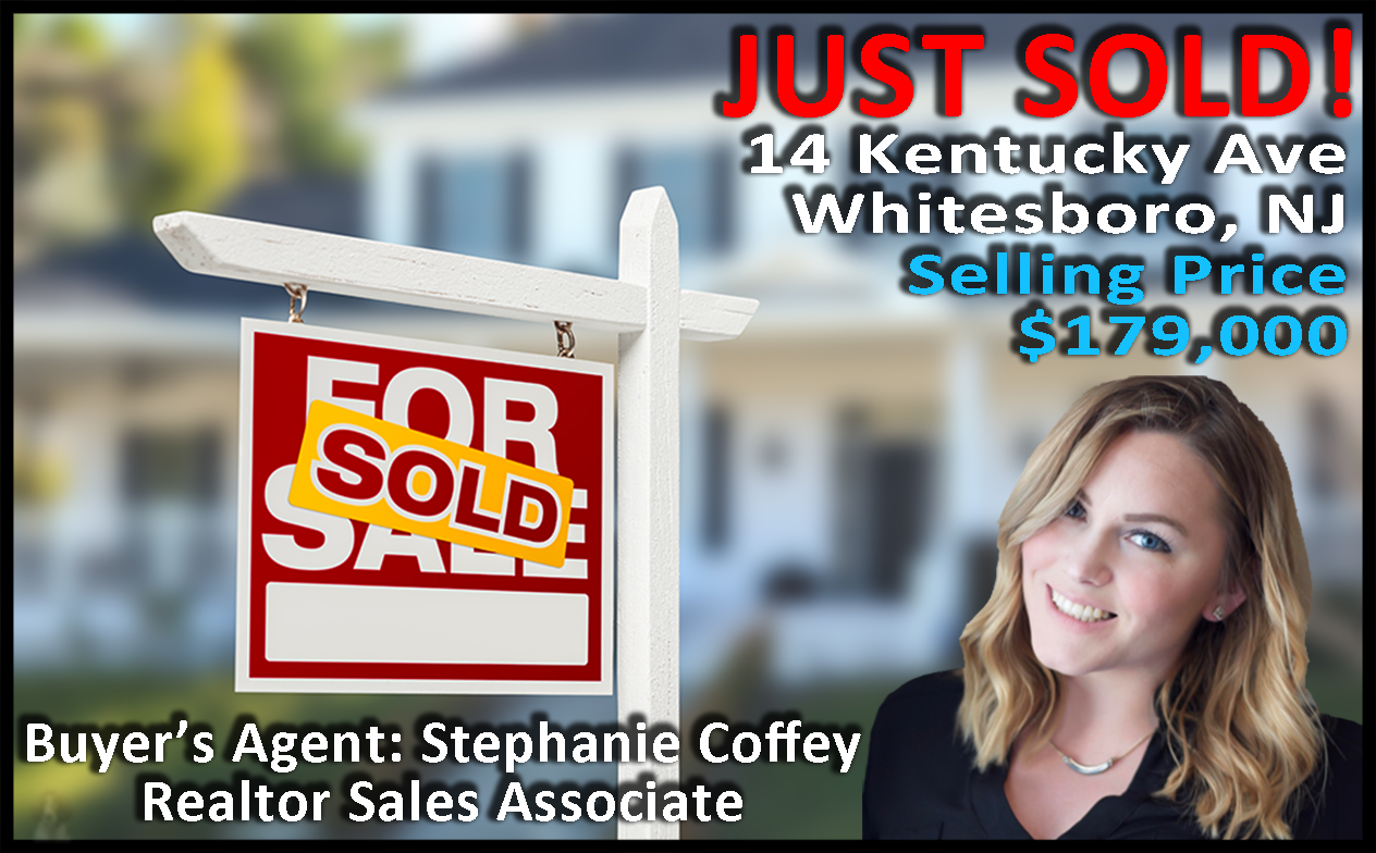 Just Sold 14 Kentucky Ave Whiteboro Nj Selling Price 179 000 Buyer S Agent Stephanie Coffey Cape May Buyers Agent Cape May County