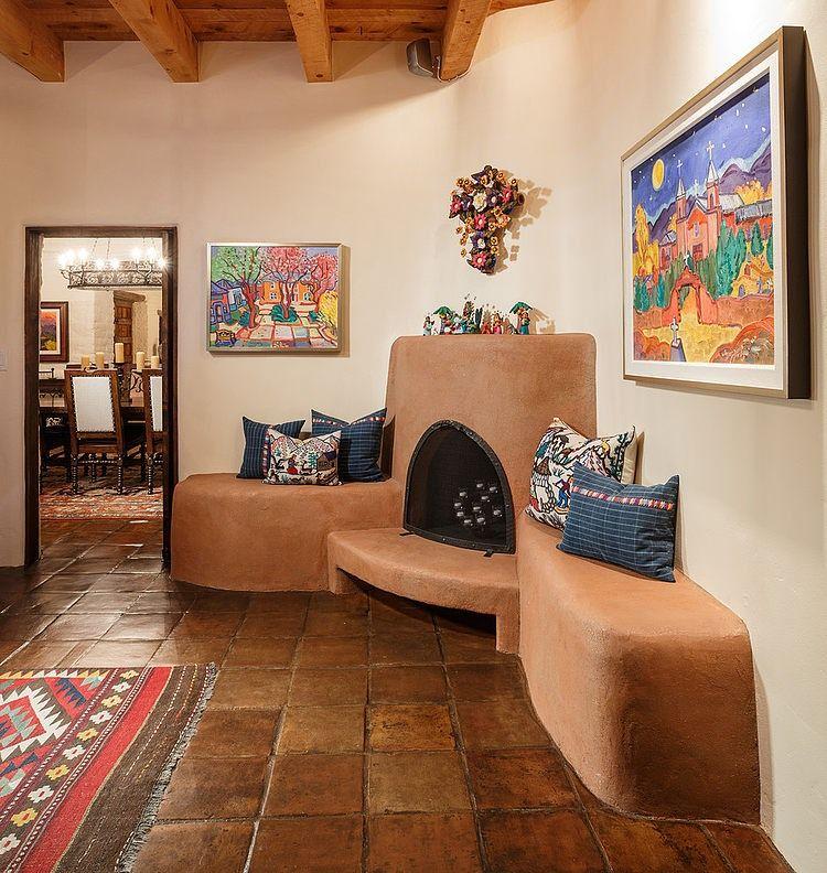 Southwest Interior Design Interior: Santa Fe Hacienda By Chandler Prewitt Design