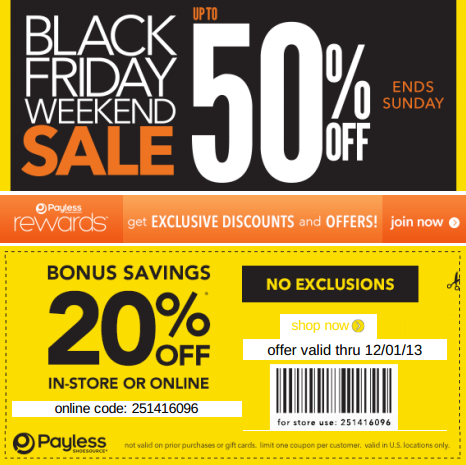graphic regarding Payless in Store Printable Coupons identified as Pin by means of Payton Averie upon Payless Discount coupons Totally free printable