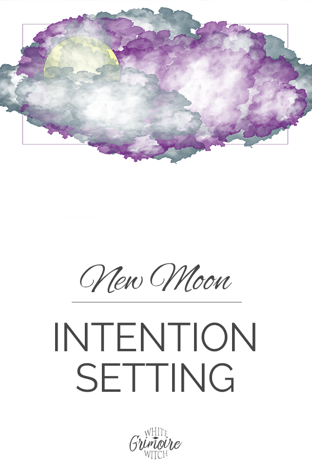 New Moon Intention Setting #newmoonritual This month, our new moon ritual is all about raising our frequency when setting our intention. This is how real manifestation works!  New Moon Intention Setting - White Witch Grimoire #newmoonritual