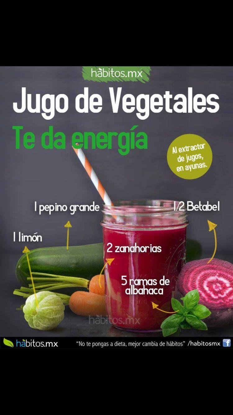 Jugo de vegetables