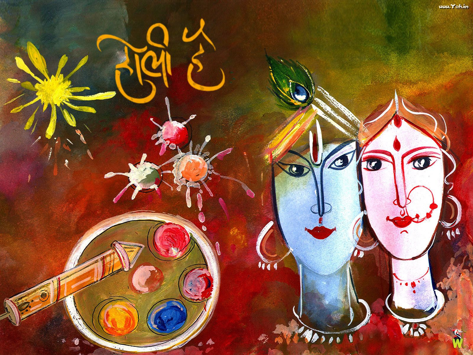 Happy holi radha krishna images - Holi Wish You Happy Holi 2014 Messages Quotes Wishes In Hindi English Holi Radha Krishna