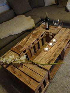 Couchtisch selber bauen weinkisten  möbel aus weinkisten | рукоделие | Pinterest | Möbel aus ...