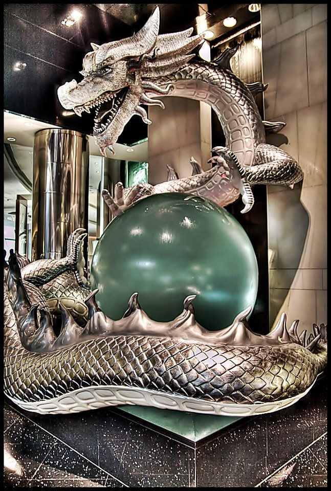 The dragon show is located in the City of Dreams Hotel and Casino.The dragons are said to look so real. I hope I don't get scared from them when I watch the show.