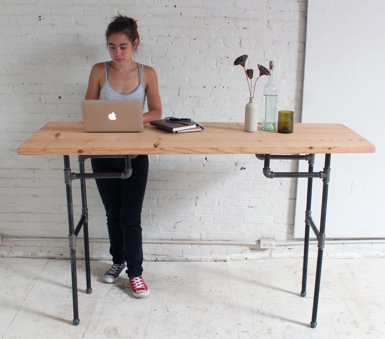 Diy Standing Desk Ideas In 2020 Diy Standing Desk Homemade