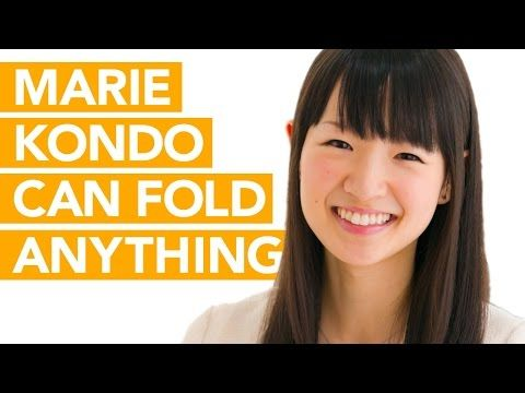 marie kondo can fold anything watch her demonstrate youtube home organizing and storage. Black Bedroom Furniture Sets. Home Design Ideas