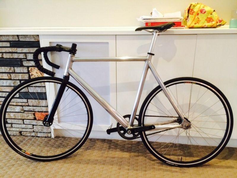 Fixed Speed Fixie Polished Apollo Bike Bicycles Gumtree