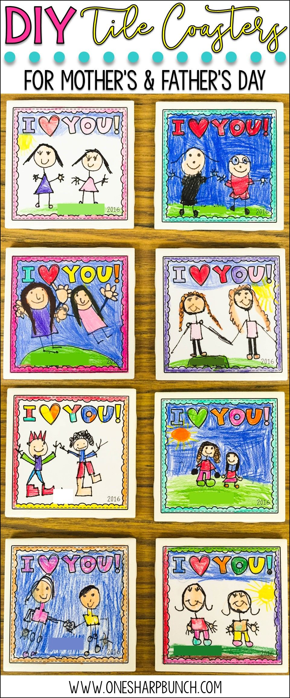 coaster craft ideas diy tile coasters for s and s day diy 1333