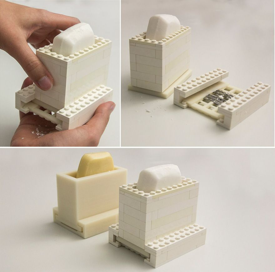 FaBrickation - combining Legos and 3D printed parts for prototypes ...