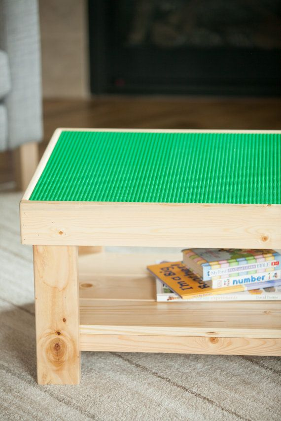Handmade Kids Lego Table By BuildPlayAndStore On Etsy