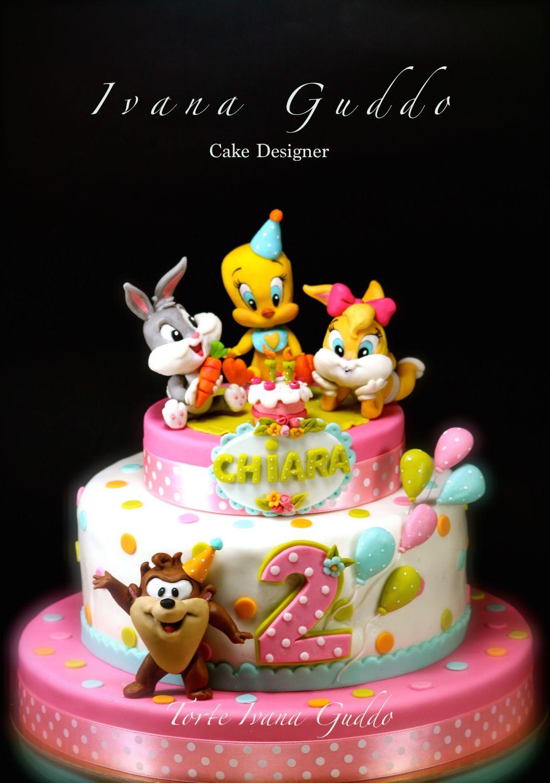 Baby looney tunes birthday cake cake by ivana guddo