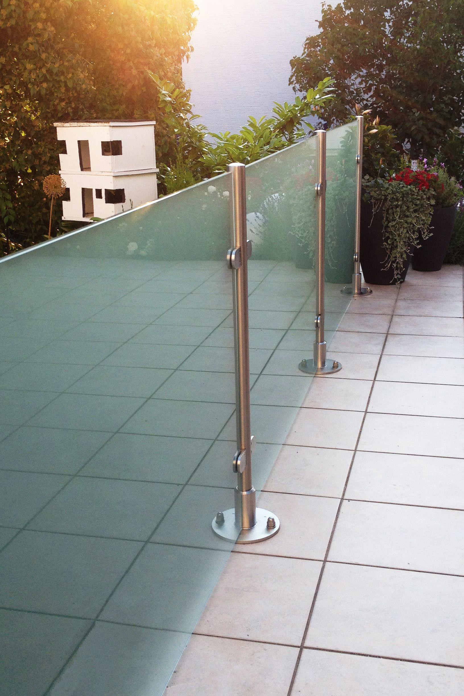 Das Windschutz System Transvent Aus Glas Eignet Sich Zudem Als