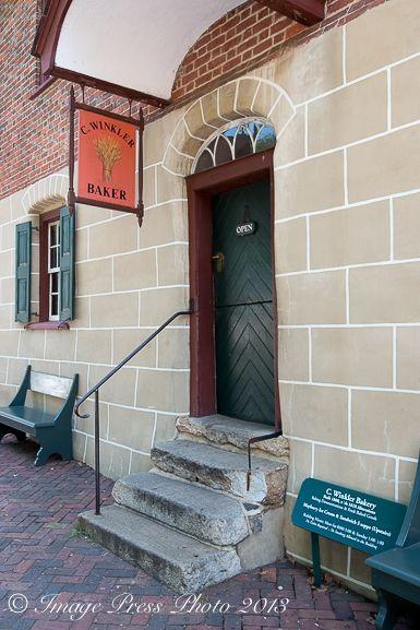 C Winkler Bakery A Moravian Bakery In Old Salem Winston Salem